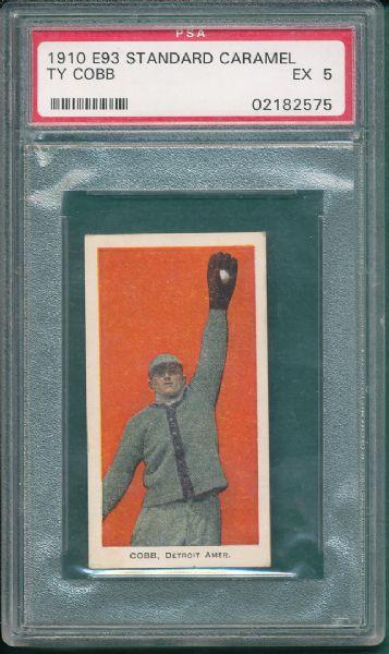 1910 Standard Caramel E93 Ty Cobb