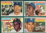1956 Topps Baseball Complete Set W/ Series 1 Checklist