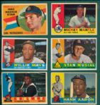 1960 Topps Complete Set (572) W/ Yaz & McCovey, Rookie