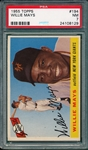 1955 Topps #194 Willie Mays PSA 7 *High #*