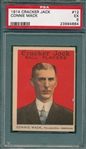 1914 Cracker Jack #12 Connie Mack PSA 5