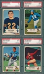 1954 Bowman Football Complete Set (128) PSA
