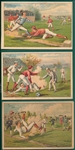 1888 H804-3 The Bufford Sons, Baseball Trade Cards, Near Set (3/4)