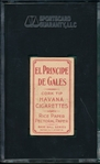 1909-1911 T206 Griffith, Batting, El Principe De Gales Cigarettes SGC 55