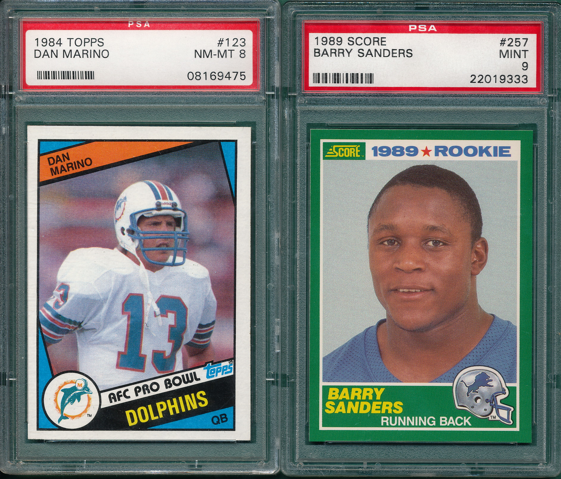 Barry Sanders 1989 Score Rookie Card