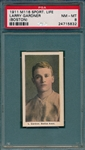 1910-1911 M116 Gardner, Boston, Sporting Life PSA 8 *None Higher*
