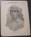 1899-1900 M101 Sporting News Willie Keeler