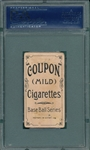 1910 T213-1 Ed Summers Coupon Cigarettes PSA 1.5