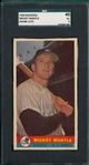 1959 Bazooka Mickey Mantle SGC 40