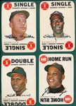 1968 Topps Game Complete Set (33)