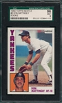 1984 Topps Nestle #8 Don Mattingly SGC 96 *MINT* *Rookie*