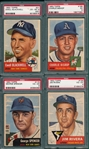 1953 Topps lot of (4) W/ #31 Blackwell PSA