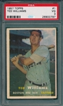 1957 Topps #1 Ted Williams PSA 3
