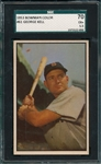 1953 Bowman Color #61 George Kell SGC 70