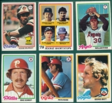 1978 Topps Baseball Complete Set (726) *Murray, Molitor Rookies*