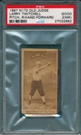1887 N172 468-3 Larry Twitchell Old Judge Cigarettes PSA 2 (MK)