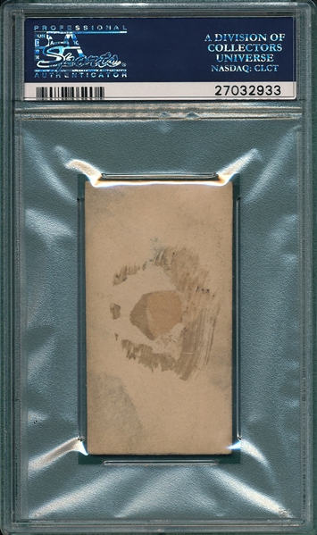 1887 N172 041-1 Timothy Brosnon Old Judge Cigarettes PSA 1