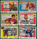1955 Topps All American Lot of (20) W/ Bertelli