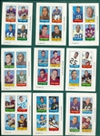 1969 Topps FB 4 in 1 Lot of (34) W/ Sayers
