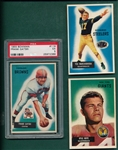 1955 Bowman FB Lot of (54) W/ #119 Gatski PSA 5