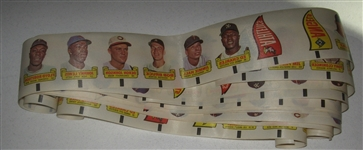 1966 Topps Transfers Lot of Strips (10)