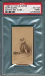 1887 N172 064-3 Bart Cantz Old Judge Cigarettes PSA 4 (MK)