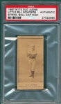 1887 N172 431-7 Little Bill Sowders Old Judge Cigarettes PSA Authentic