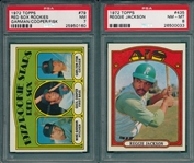 1972 Topps Baseball Partial Set (610/787) W/ Wrapper, *High Grade*