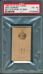 1887 N172 132-15 Mike Dorgan Old Judge Cigarettes PSA 4 *Clear Image*