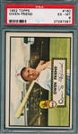 1952 Topps #160 Owen Friend PSA 6