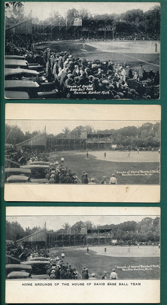1930s-40s House of David Postcards Lot of (5)