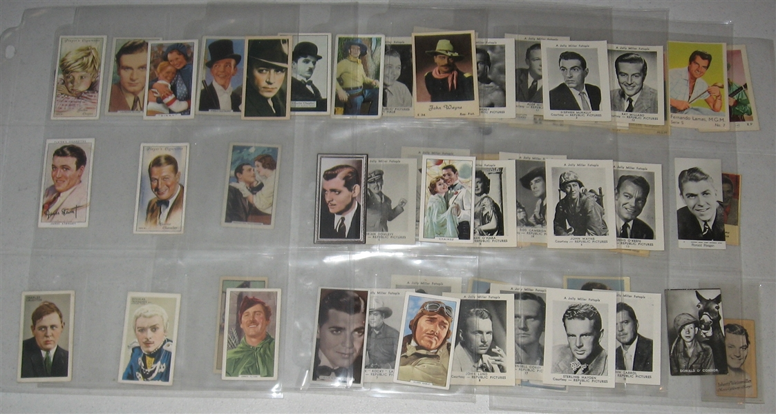 1880s-1970s Grab Bag of Stage, Film & TV Stars Lot of (139)