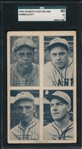 1936 Exhibits 4 in 1 Terry/Hubbell/Ott SGC 60