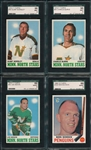 1969-71 Topps HCKY Lot of (4) W/ 70-71 Worsley SGC 96 *MINT*