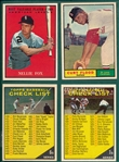 1961 Topps Lot of (80) W/ #438 Flood *High Grade*