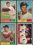 1961 Topps Lot of (125) W/ #330 Colavito *High Grade*
