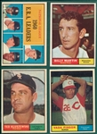 1961 Topps Lot of (125) W/ #110 Pinson *High Grade*