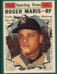 1961 Topps #576 Roger Maris, AS, *Hi #*