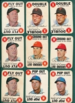 1968 Topps Game Lot of (42) W/ Killebrew, Kaline & Rose