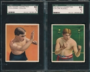 1910 T218 Lot of (2) Boxers Coulon & Russell SGC 60