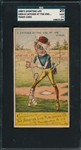 1880s H804-4, Catcher At End of Season, Sporting Life SGC 20 *Strong Front*