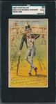 1880s H804-4, Our Baseball Manager, Sporting Life SGC 30 *Strong Front*
