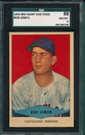 1954 Red Heart Bob Lemon SGC 88