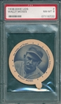 1938 Dixie Lids Wally Moses PSA 8
