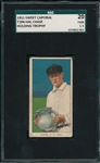 1909-1911 T206 Chase, Holding Trophy, Sweet Caporal Cigarettes SGC 20
