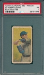 1909-1911 T206 Abbaticchio, Blue Sleeves, Sweet Caporal Cigarettes PSA 1