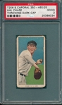 1909-1911 T206 Chase, Throwing, Dark Cap, Sweet Caporal Cigarettes PSA 2 *Factory 25*