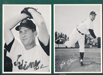 1950s Cleveland Indians Team Issue Lot of (2) W/ Lemon & Wynn