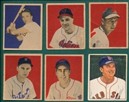 1949-52 Bowman Lot of (16) W/ Kiner