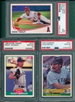 1984-2013 Boggs, Johnson and Trout, (3) Card Lot PSA 10 *GEM MINT*